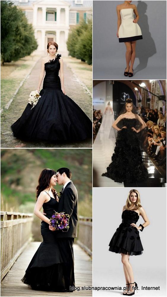 1b1459ae1f czarne suknie ślubne!