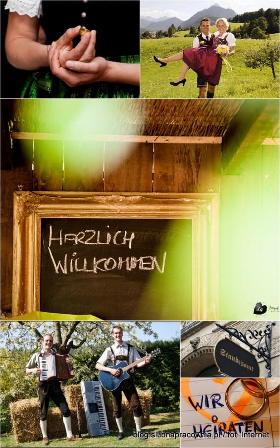 śluby świata Po Niemiecku Blog ślubny ślubna Pracownia