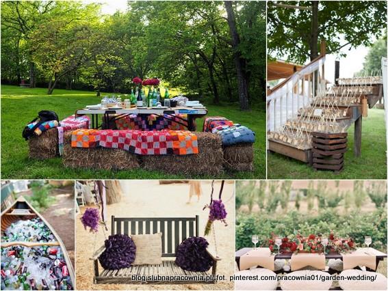 trendy garden party
