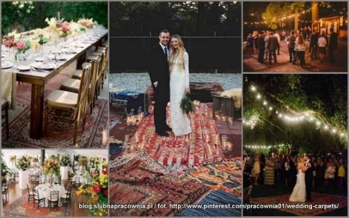 dywany wesele