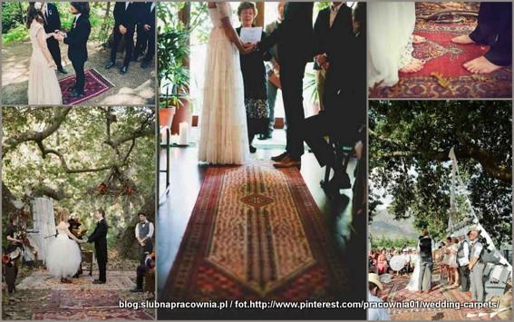 perskie dywany slub