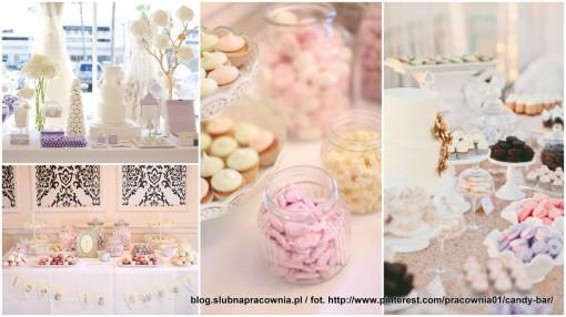 stół słodkości