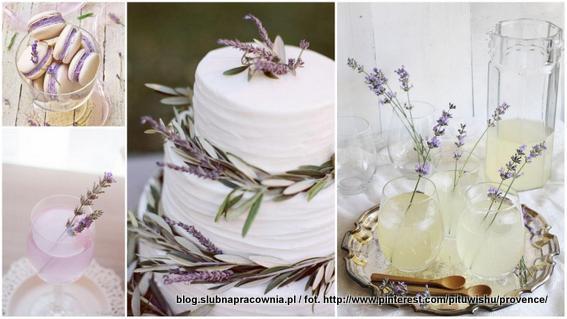 tort w stylu prowansalskim