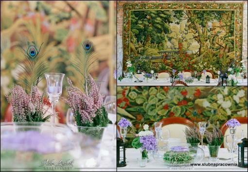 dekoracje kwiaty wesele