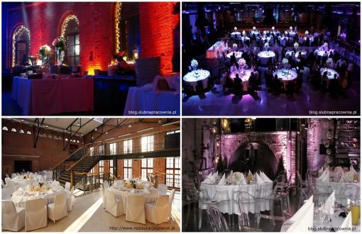 aranżacja stołów wesele industrialne