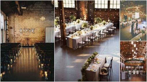 aranżacja wesele industrialne