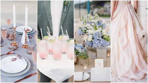 trendy kolory wesele