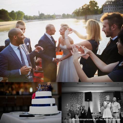 wesele rejs po Odrze