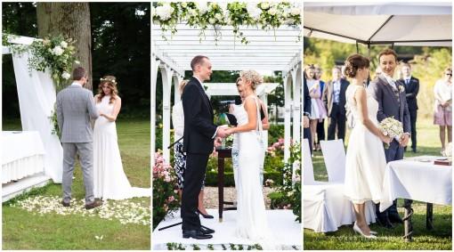 ślub w plenerze przysięga