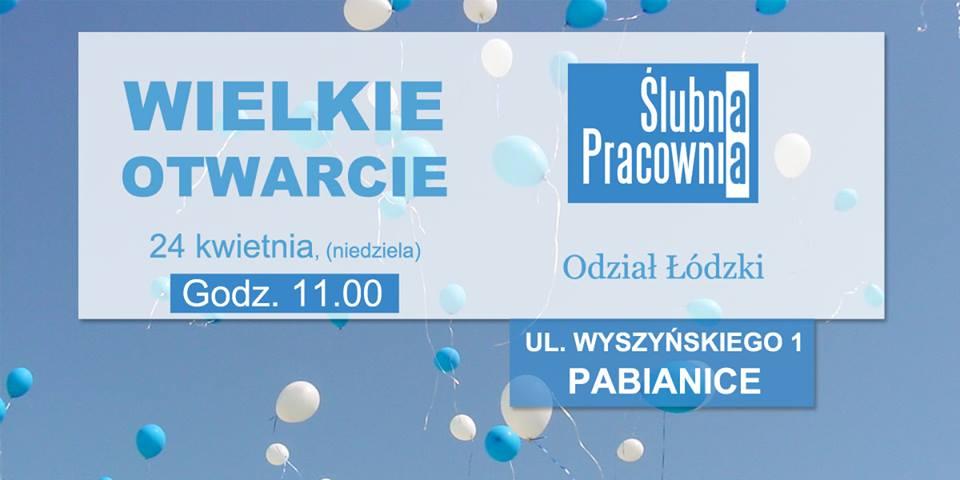 Wielkie otwarcie oddziału Ślubnej Pracowni w Łodzi